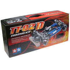 Tamiya TT02D 1:10 Drift Spec Chassis EP RC Car Kit On Road #58584