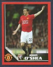 PANINI MANCHESTER UNITED 2008/09 #062-INTERNATIONAL-EIRE-JOHN O'SHEA