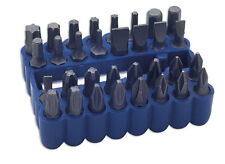 "LASER TOOLS 0862  1/4""  Bit Set - 33pc  Star. Hex, Flat, Phillips, PzDrive  Bits"