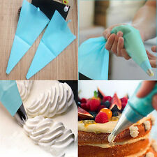 31cm Silicone Reusable Icing Piping Cream Pastry Bag Cake Decorating Tool DIY