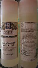 Shampoo Delicato con GLUCOSIDI VEGETALI  e COLLAGENE per LAVAGGI FREQUENTI