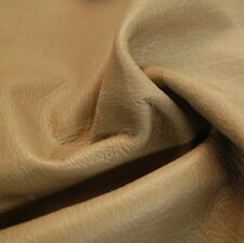 13  sf Gray Car Auto Upholstery Hide Leather Skin Piece X40L
