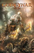 POSTER GOD OF WAR KRATOS II III ASCENSION CHAINS OF OLYMPUS 2 3 4 PS3 PS4 #2