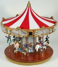 Jubilee Carousel Music Box w/Moving Horses-See VIDEO!