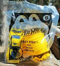 """McDonald's Happy Meal Toy - Hot Wheels """"Fast Fish"""" #8 New & Unopened 2014"""