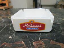 Ancien cendrier publicitaire ROTHMANS, légère , The greatest name in cigarettes