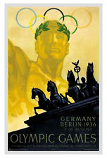 BERLIN GERMANY 1936 Summer Olympic Games Official Olympic Museum POSTER Print