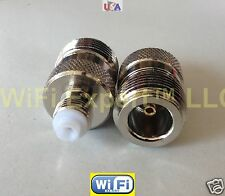 Adapter N female TYPE plug to FME Female Jack RF Connector Converter shp from US