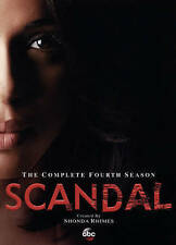 SCANDAL DVD THE COMPLETE SEASON 4. IN STOCK FREE SHIPPING NEW