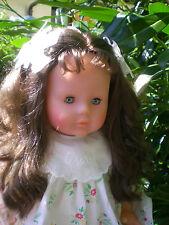 Corolle Puppe 60 cm 1984 Mädchen mit 2x Originalkleidung, Sammlerpuppe,  Doll