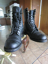 Collectors !!  Circa 1950 RED WING SURVIVAL Paratrooper Jump Boots !! 9.5 D
