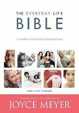 *NEW* Amplified Everyday Life Bible... by Joyce Meyer (HARDCOVER) *SHIPS FREE*