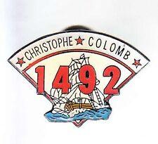 RARE PINS PIN'S .. BATEAU BOAT AMERICA COLON COLOMB 1492 VOILIER ~6B