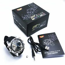 32GB 1080P Mini Spy Camera Watch DVR Waterproof Hidden Recorder IR Night Vision