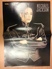 MICHAEL JACKSON / EAST 17  - POSTER FROM POPCORN MAGAZINE マイケル·ジャクソン