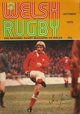 WELSH RUGBY MAGAZINE OCTOBER 1979, NEWBRIDGE, GLAIS, CARDIFF, PONTYPOOL