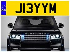 J13 YYM JIMBO JIMMY JAMIE JIMS JAMES JAM JAMESY JIMMIE PRIVATE NUMBER PLATE FIAT