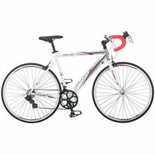 56cm mens  road bike bicycle schwinn white entry level 700c shimano 14 spd