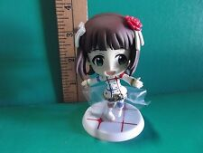 "The Idol@master Part 3  Big Head Figure 3.5""in Girl in Red White & Blue Outfit"