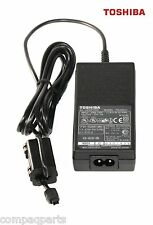 PA2501U Genuine Toshiba Laptop AC Adapter Portege Libretto 15V w/ power cord
