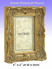 "Antique/Ornate Gilt Photo Frame or Art Frame.6x4""(15x10cm) (Chelsea 5-250-46)."