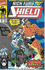 Nick Fury Agent of SHIELD #19 (1991 vf 8.0)