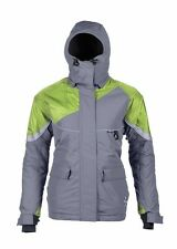 Striker Ice Women's Prism Floating Jacket - Grey/Green, Size 6 - Retail $199.95