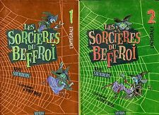 LES SORCIERES DU BEFFROI ..INTEGRALE 1+INTEGRALE 2..illustrations TONY ROSS