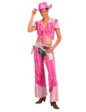 Cow girl tons de rose country far west deguisement costume carnaval halloween
