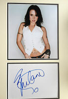 MELANIE C - SPICE GIRLS BAND MEMBER - SIGNED COLOUR PHOTO DISPLAY
