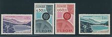 1961 - 1969 Andorra (French) #174 & 175, #152 & 153 MINT; CAT VALUE $40+