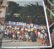 Corona Del Mar Lincoln School 1984 Yearbook High Tide