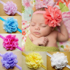 10Pcs Girl Baby Headband Toddler Princess Flower Hair Band Headwear Accessory