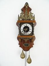 Zaanse Warmink Dutch Wall REPAIR Clock Vintage (Junghans Hermle Kienzle Era)