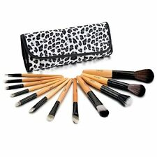 Incandescenza 12 Professional Makeup Pennelli Set in Leopardato Custodia