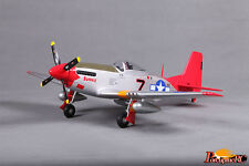 FMS 800MM P51(V2) Red tail PNP RC plane warbird No Radio