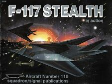 20640/ Squadron Signal - Aircraft in Action No 115 - F-117 Stealth - TOPP HEFT