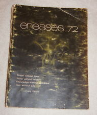 Enesses 1972 Yearbook Northern Secondary School, Toronto