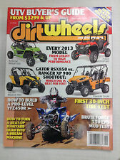 Dirt Wheels Magazine Arctic Cat Wildcat 1000 Ever Model February 2013 032817nonR