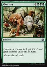MTG 2x OVERRUN - SOPRAFFARE - CN2 - MAGIC