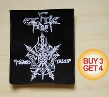 CELTIC FROST MT WT PATCH BUY3 GET4,HELLHAMMER,VENOM,ABSU,SODOM,AURA NOIR,BATHORY