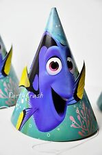 Disney Finding Dory Cone Hats Birthday Hats Decoration Party Supplies 8 count
