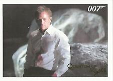 James Bond Archives 2015 - 061 Quantum of Solace Gold Parallel Card #125/125