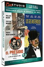 THE BIG HOUSE (1930) + THE SECRET  6 SIX (1931)  **Dvd R2** Wallace Beery