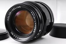 Near Mint!! Voigtlander Color-Heliar 75mm F2.5 MC Leica L-mount from Japan #429