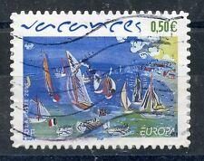 TIMBRE FRANCE OBLITERE N° 3672 EUROPA / VACANCES  Photo non contractuelle