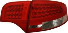 Back Rear Tail Lights For Audi A4 B7 Saloon 04-08 With LED In Red-Clear