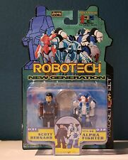 Toynami Robotech i-Men Figure w/ Collectible Coin - Scott Bernard & Alpha - New