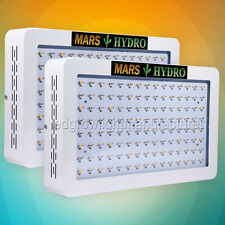 2PCS Mars Hydro 600W Led Grow Lights Full Spectrum Lamp Panel Veg Flower Plant