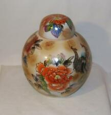 Beautiful Oriental Porcelain Vase & cover  - 22 cm  high  Lid A/F